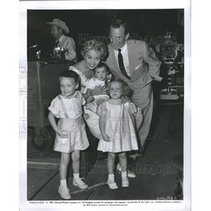 1957 Jane Powell Press Photo