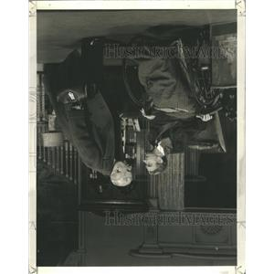 """1940 Press Photo Play, """"The Man Who Came to Dinner"""""""