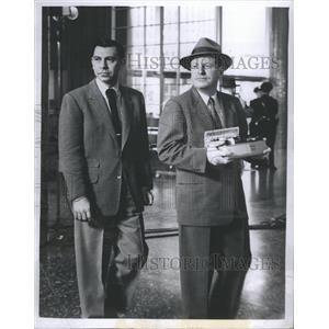 1959 Press Photo Jack Webb Actor - RRR52503