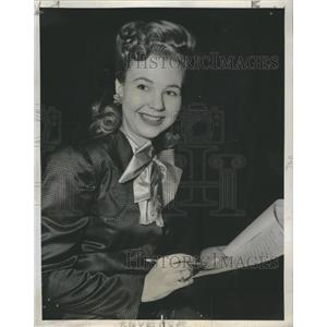 1945 Press Photo Jane Withers
