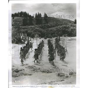 "1955 Press Photo ""Land of Fury"""