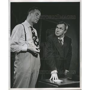 1949 Press Photo Michael Stanley in Death of a Salesman