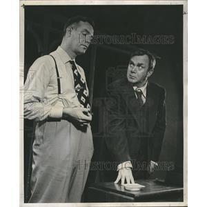 1949 Press Photo Weary  willy Lemon Death Sales Man