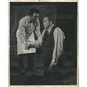1950 Press Photo Thomas Mitchell in Death of a Salesman