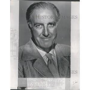 1946 Press Photo Godfrey Tearle Actor Hollywood