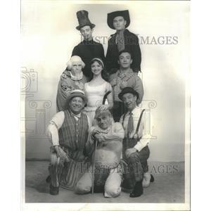 1961 Press Photo Cast of Fantasticks Conrad Hilton - RRR63229
