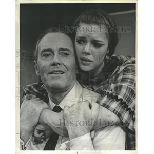 1966 Press Photo Henry Fonda Holly Turner in Generation