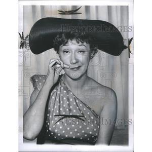 1960 Press Photo Actress Dody Goodman Funny Face