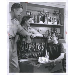 1956 Press Photo Judy Goodrich