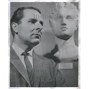 1957 Alexander Scourby Press Photo