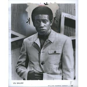 1971 Press Photo Stu Gilliam