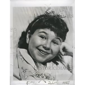 1939 Press Photo Jane Withers TV Actress