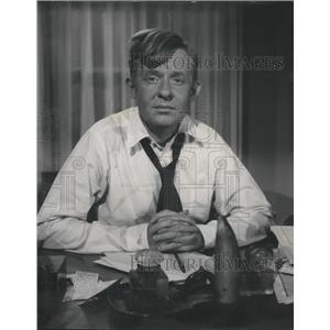 "1958 Press Photo Oothout Zabriskie Whitehead ""OZ"""