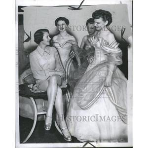 1950 Press Photo Ruby