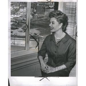 1958 Press Photo Actress
