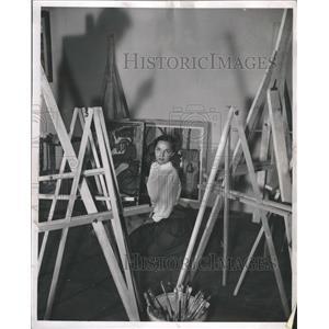 1949 Press Photo Model and Actress Eileen Wilson - RRR72947