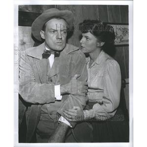 Press Photo Arthur Kennedy American Actor Western Film - RRR74633