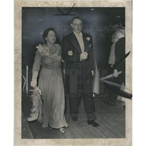 1951 Press Photo Foster Ward Annie Miss
