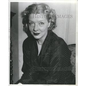 "1935 Press Photo Frances Williams ""Life Begins at 8:40"""
