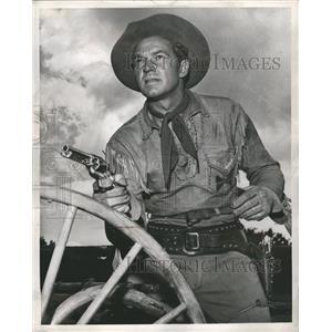 1953 Press Photo Bill Williams American Film Actor