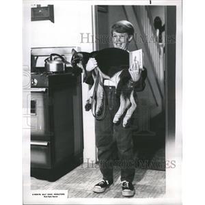 1967 Press Photo Walt Disney Wonderful World Clor Billy