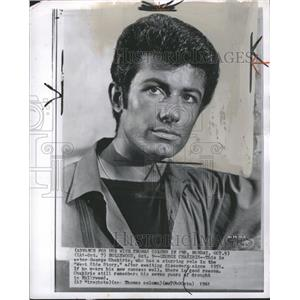 1961 Press Photo Actor George Chakiris, West Side Story