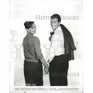 1960 Press Photo Victoria Shows  Duck Clark Actress