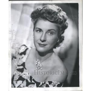1947 Shirley Ross Press Photo