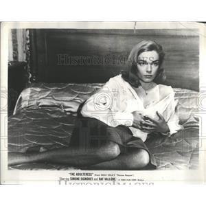 1958 Press Photo Simone Signoret Actress