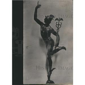 1912 Press Photo Mercurio (Giovan Bologna) - RRR97893