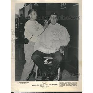1956 Press Photo Parker East Cleveland Graduate School