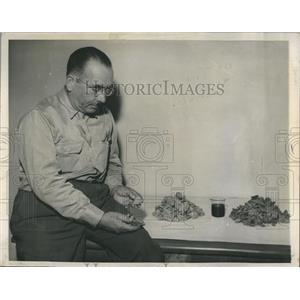 1948 Press Photo Union Oil Company Oil Shale