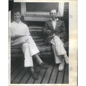 1937 Press Photo Joseph Gaither Pratt Charles Rhines - RRR68785