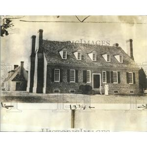 1934 Press Photo George Washington Great Britain Americ