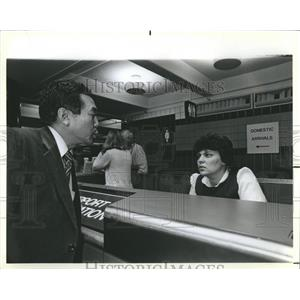 1985 Press Photo Linguist Tina Mitilinakis O'Hare