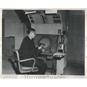 1962 Press Photo O'Hare Airport Control Tower