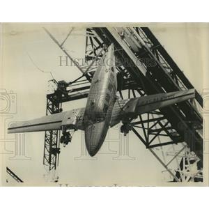 1974 Press Photo Full-Sized Planes Used for Crash Tests - RRR22413