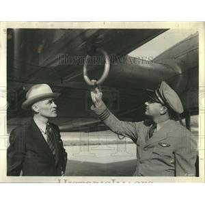 1939 Press Photo United Airlines Altitude Chamber - RRR22423