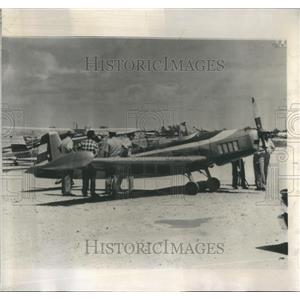 1962 Press Photo Cuban flies plane  Florida