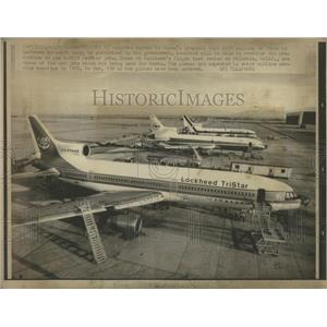 1981 Press Photo Lockheed Aircraft Corporation
