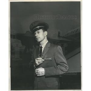 1960 Press Photo United Lines International Airport - RRR68115