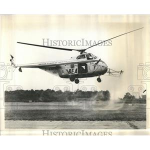 1959 Press Photo Laterally Vertical Hover Wing Aircraft - RRR83523