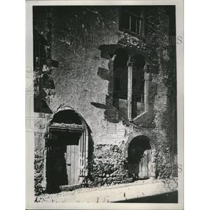 1934 Press Photo Christopher Columbus lived in this house in Furchal Madeira