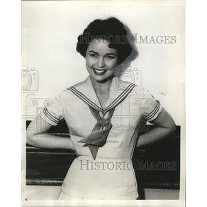 "1955 Press Photo Kathryn Crosby stars in ""A Nice Price"" - mjx21198"