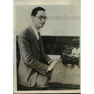1931 Press Photo Gilbert Westoby - nef33527