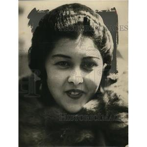 1924 Press Photo Ms. Marie de Becker of Yakahoma Japan - nef48822