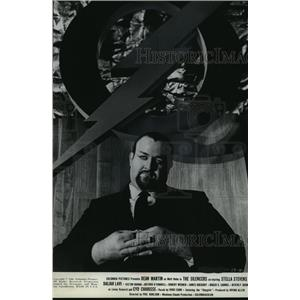 "1966 Press Photo Victor Buono stars in ""The Silencers"" film - mjx22227"