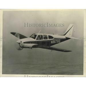1964 Press Photo Planes - 1965 Beechraft C33 Debonair Airplane - noz00175