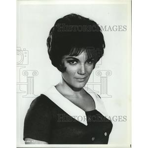 1965 Press Photo Connie Francis in When the Boys Meet the Girls from MGM