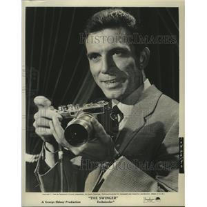 1966 Press Photo Tony Franciosa in movie The Swinger from Parmount - lfx00335